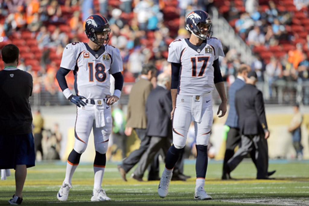 Peyton Manning Brock Osweiler Nike Super Bowl 50