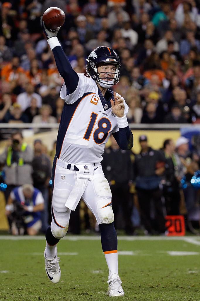 Peyton Manning Super Bowl 50 Nike