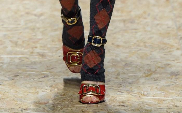 Prada Fall 2016 Shoes On The Runway