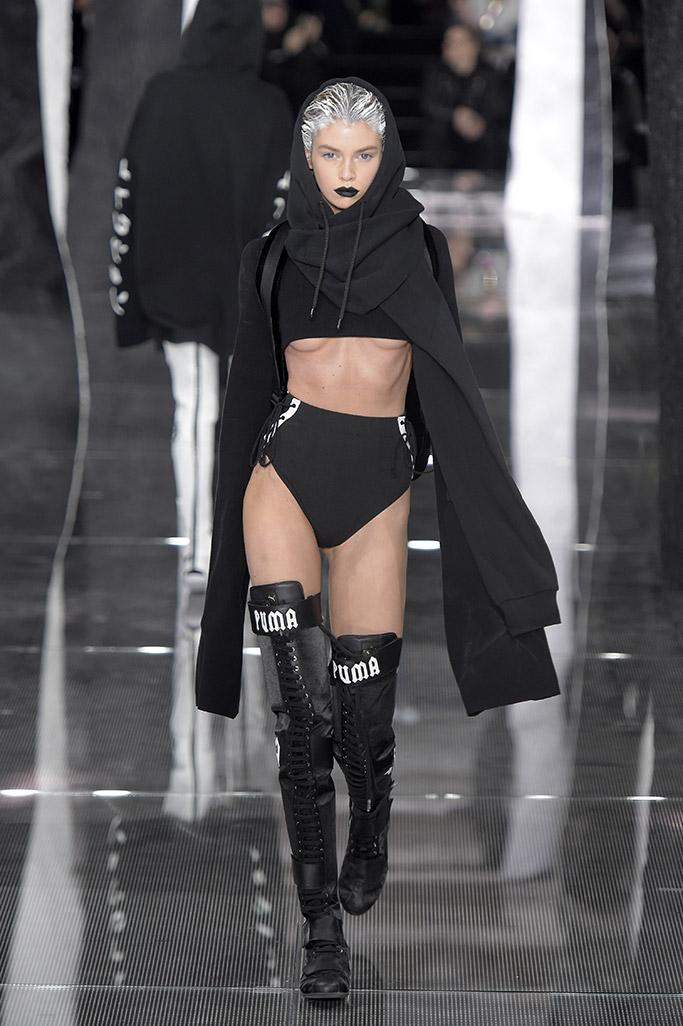 Puma Rihanna RTW Fall 2016 Shoes On The Runway