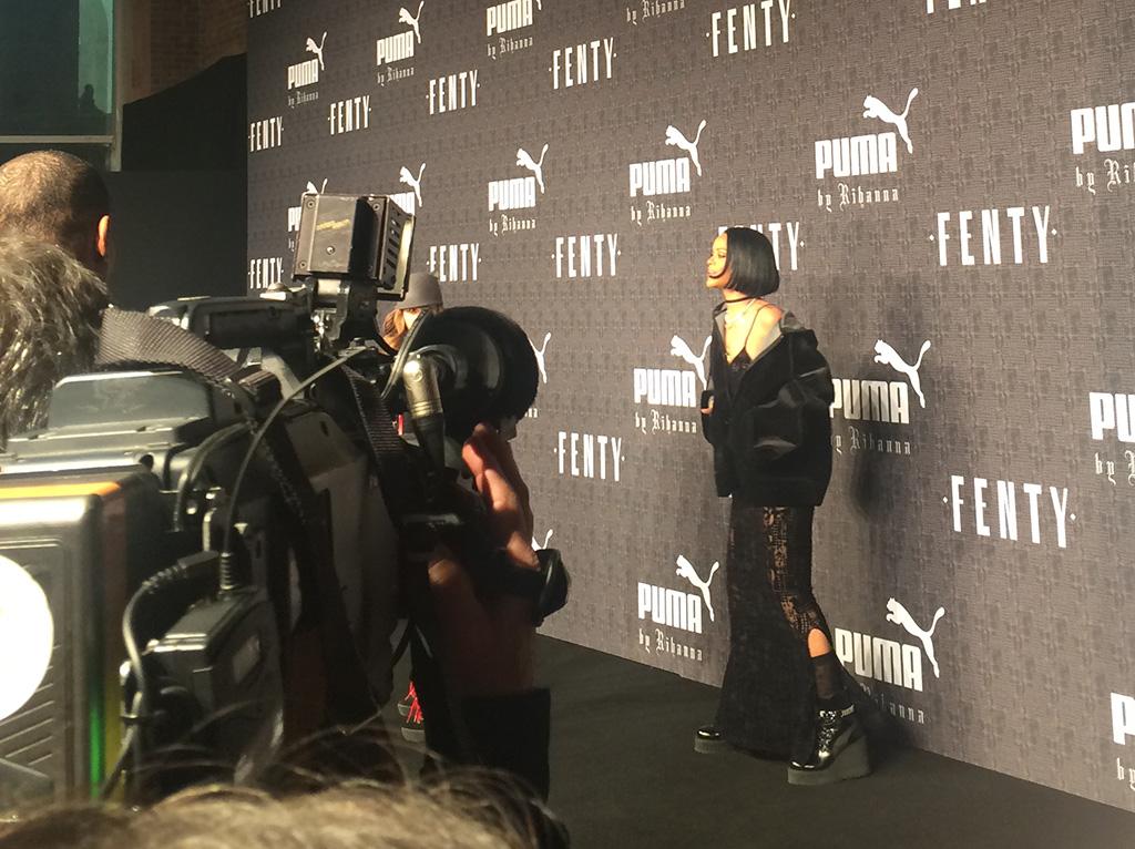 Rihanna Puma RTW Fall 2016 Show