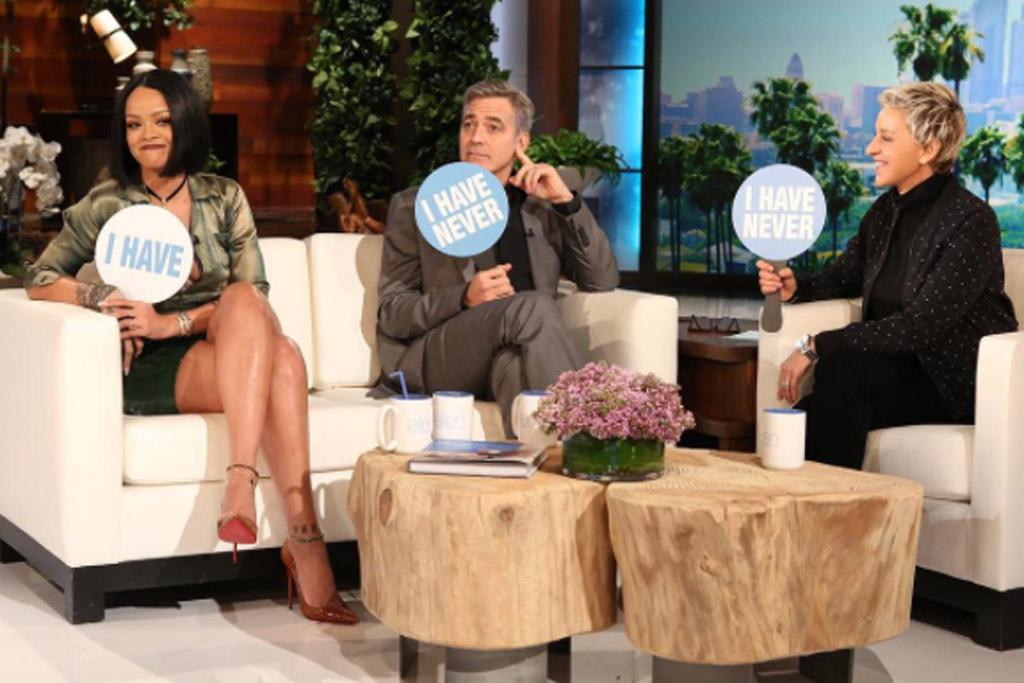 Rihanna Ellen Show Christian Louboutin Shoes