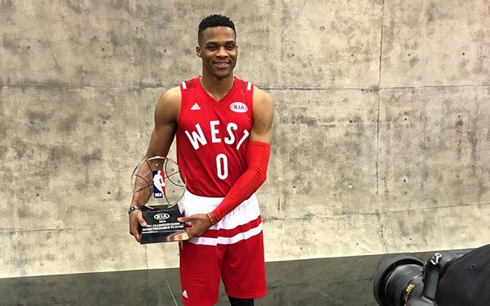 Russell Westbrook NBA All-Star Game MVP