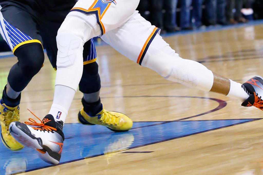 Russell Westbrook Wears Air Jordan XXX