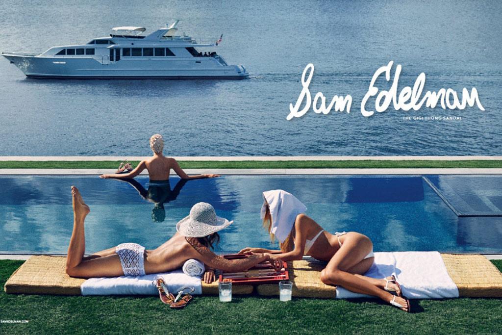 Sam Edelman Spring 2016 Ad Campaign