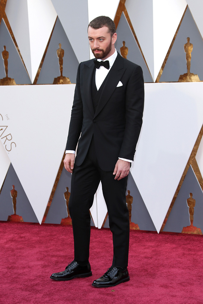 Sam Smith 2016 Oscars