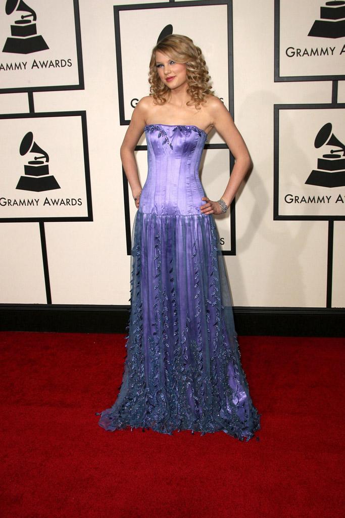 Taylor Swift's Grammy Shoe Style