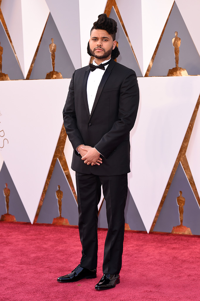 The Weeknd 2016 Oscars
