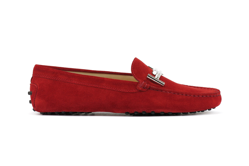 Tod's Suede Gommino Driving Moccasin