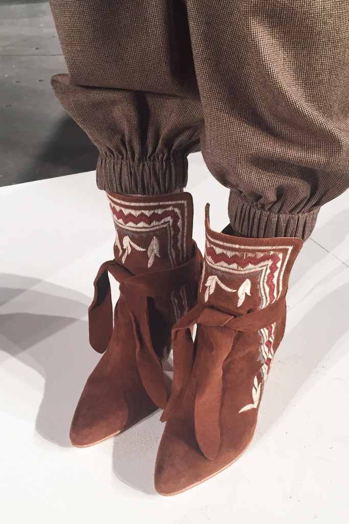 Ulla Johnson RTW Fall 2016 Shoes On The Runway