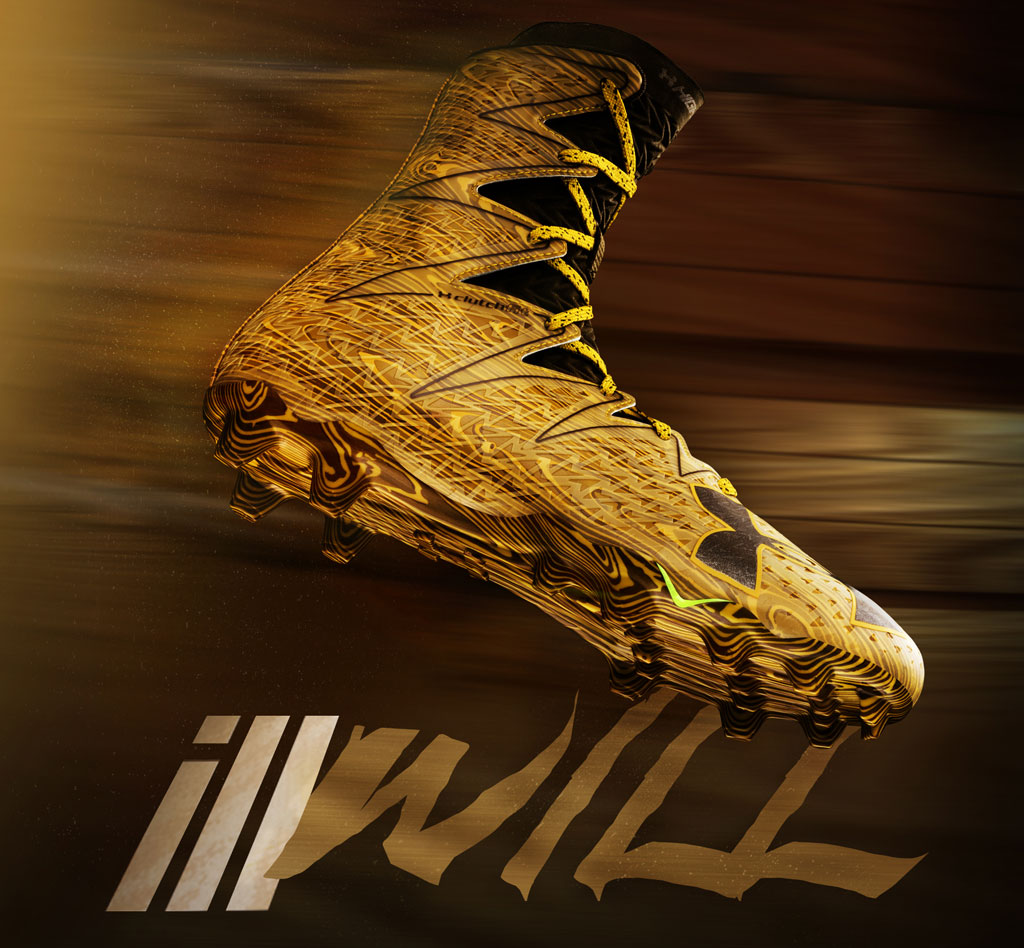 Under Armour Anniversary Wood cleats