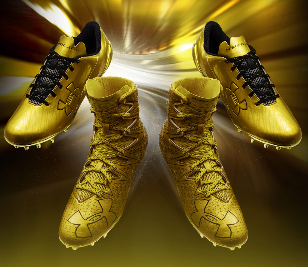 Under Armour Anniversary Gold cleats