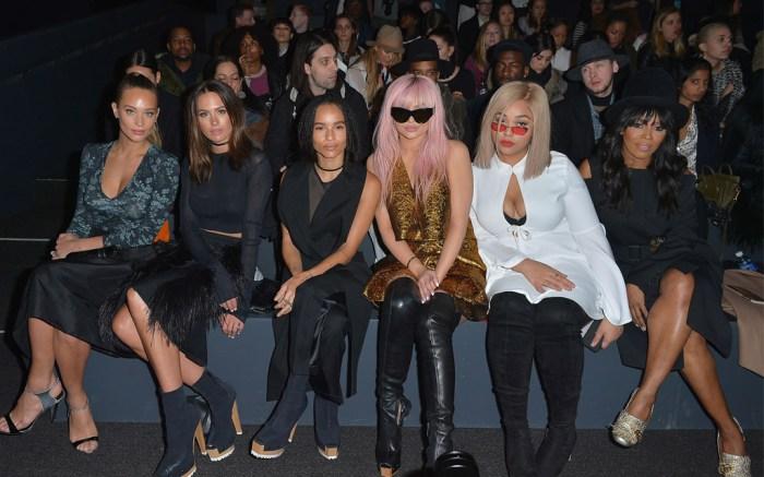 Front Row at Vera Wang Fall 2016 New York Fashion Week