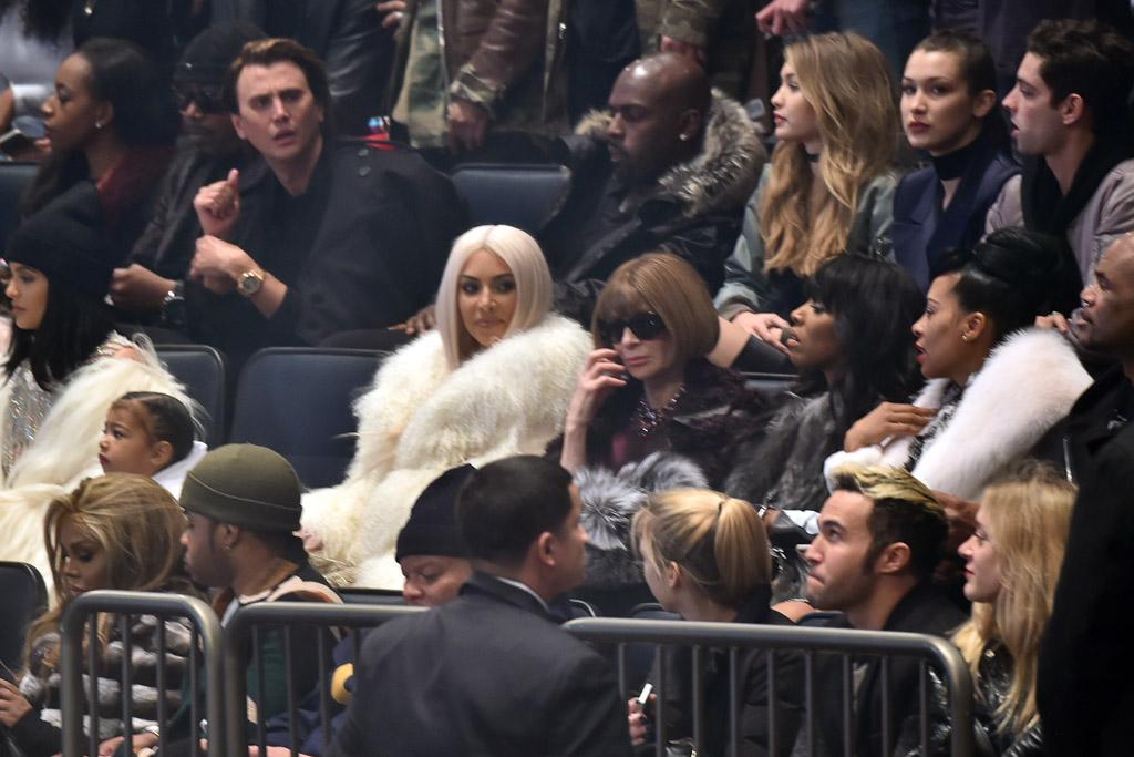 Yeezy Season 3 Kim Kardashian Anna Wintour