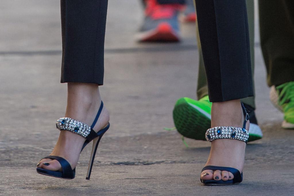 Zendaya Celebrity Statement Shoes Winter 2016