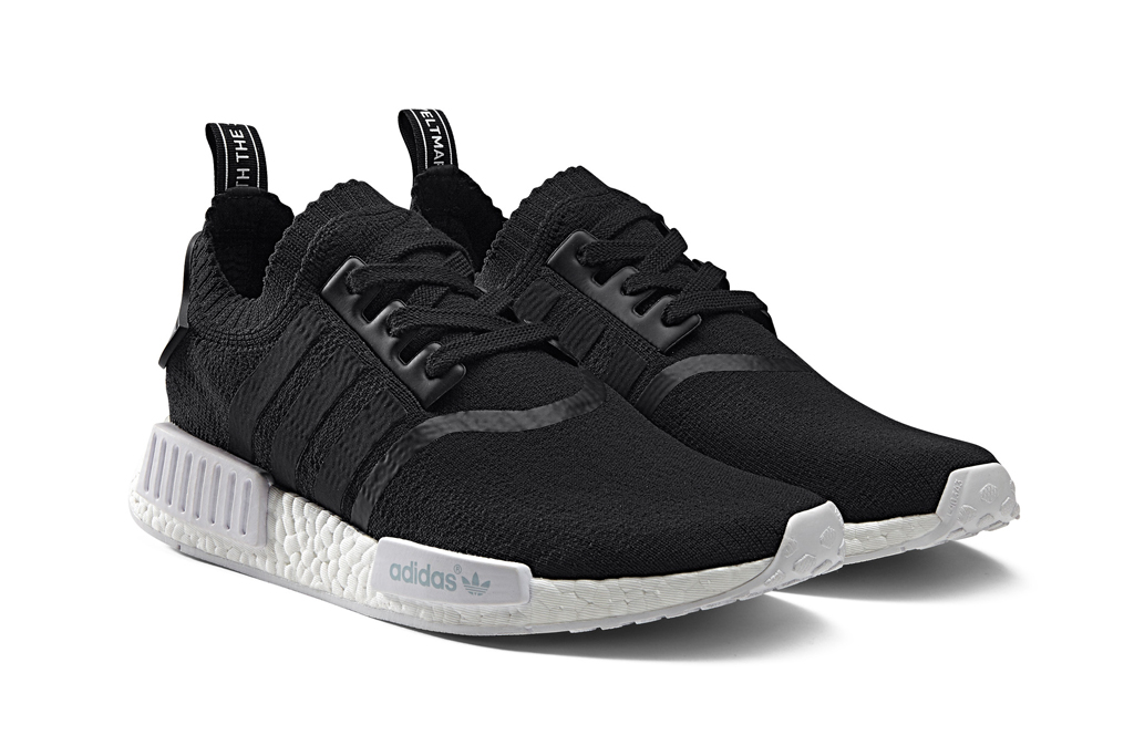 Adidas NMD_R1 Monochrome Sneakers