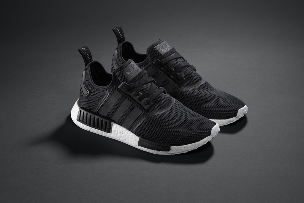 Adidas NMD_R1All Black Sneakers