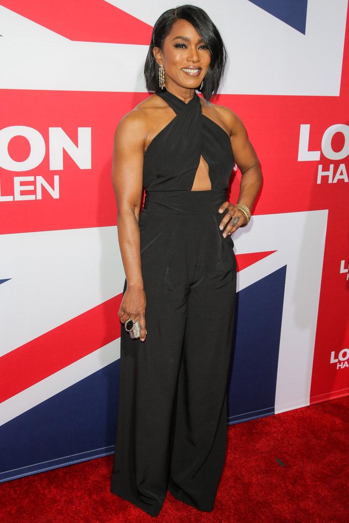 Angela Bassett London Has Fallen Premiere