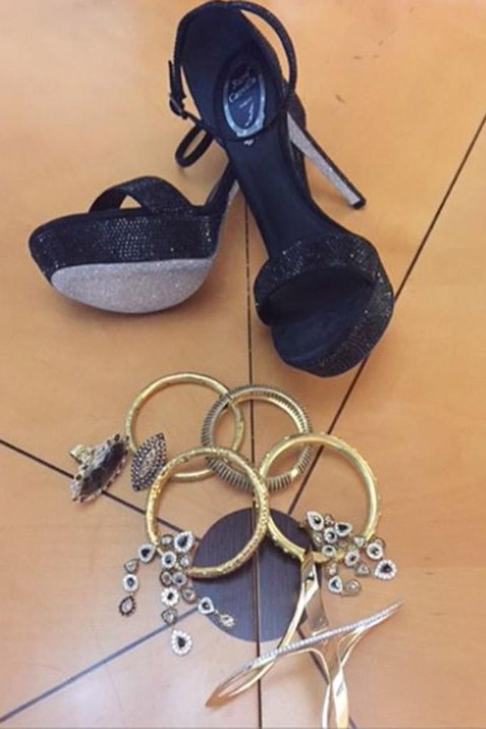 Angela Bassett Rene Caovilla Shoes