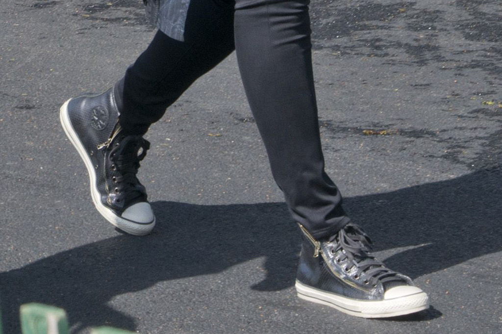 Michelle Obama Converse High Tops Easter