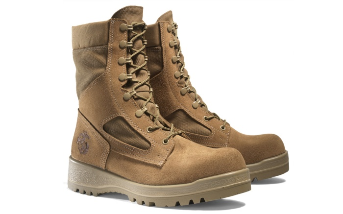 Bates military boot