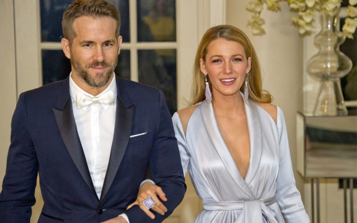 Blake Lively stepped out with husband Ryan Reynolds for a state dinner at the White House.