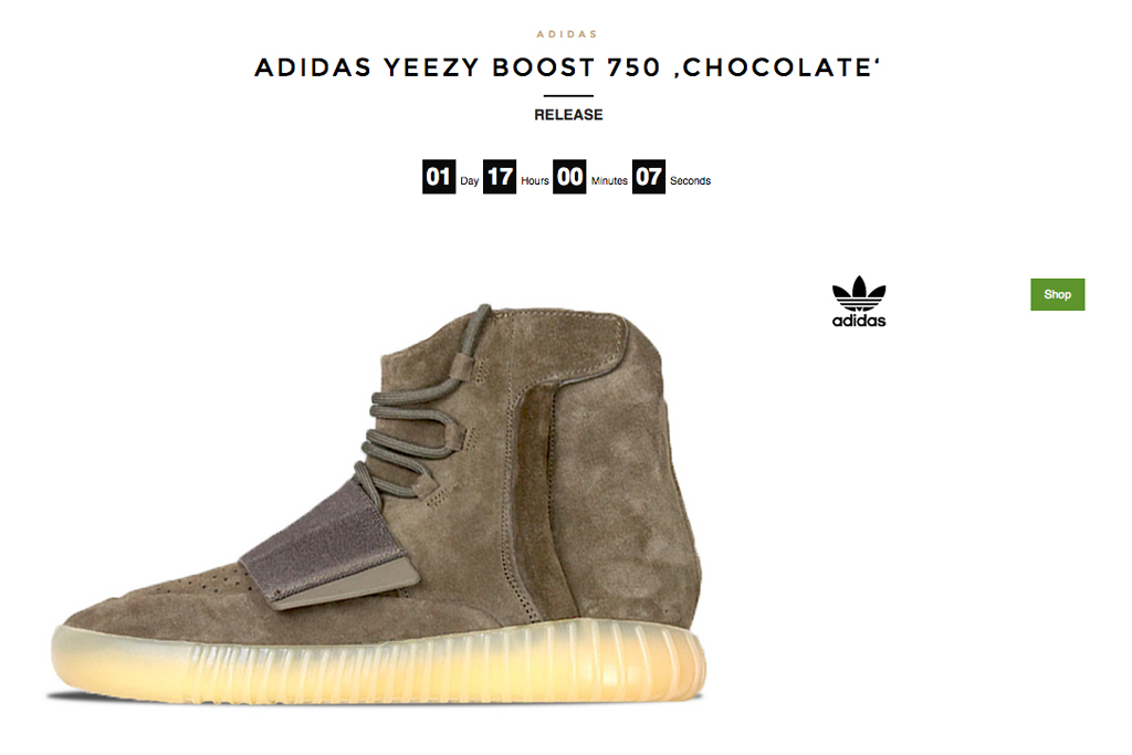Blkvis Yeezy Boost 750 Chocolate Brown