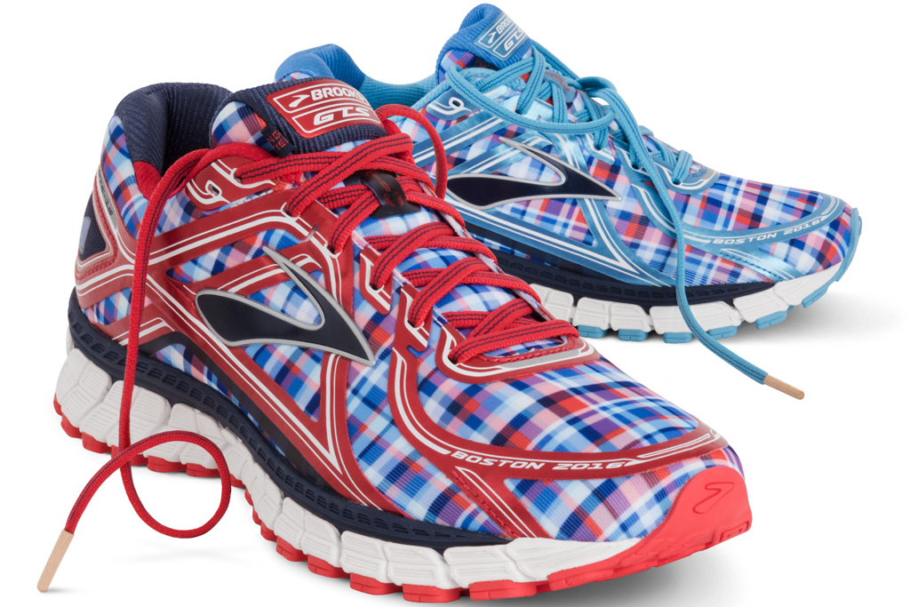 Brooks Nantucket Adrenaline GTS 16 Boston Marathon