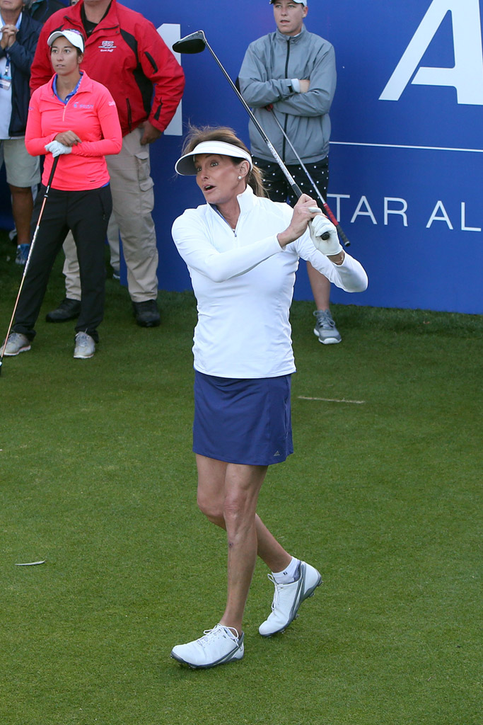 Caitlyn Jenner ANA Inspiration Golf Tournament