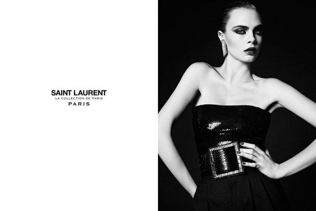 Cara Delevingne Saint Laurent Ad Campaign