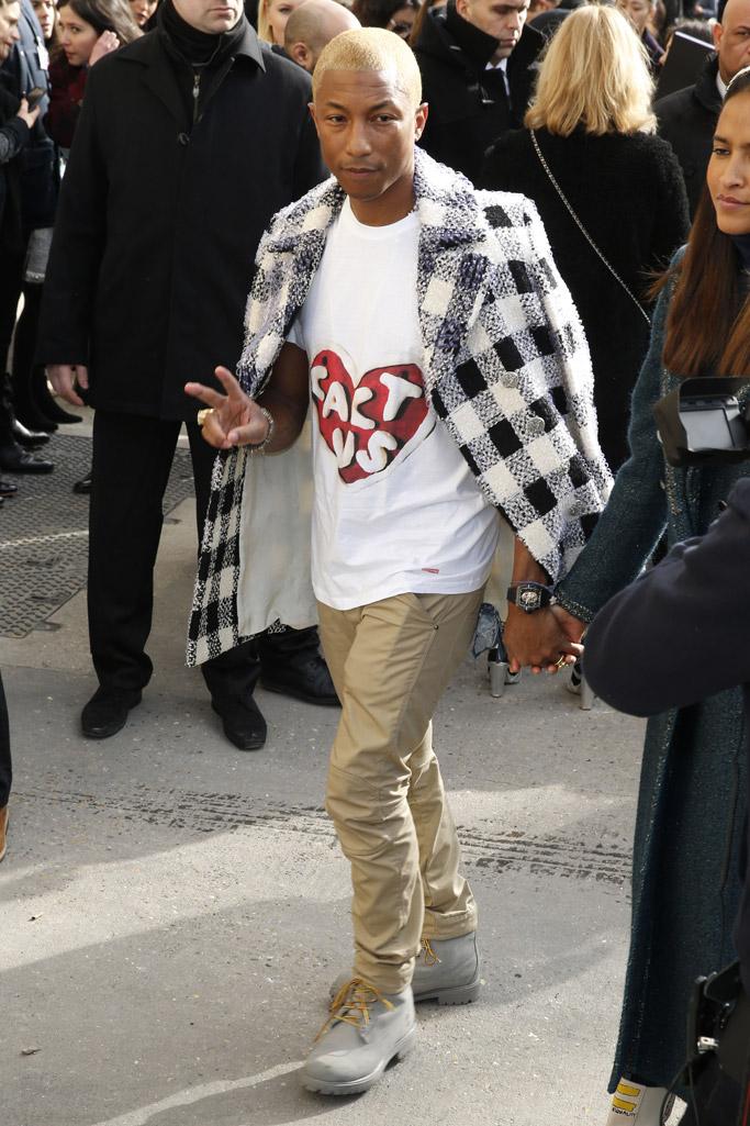 Pharrell Williams Paris Fashion Week