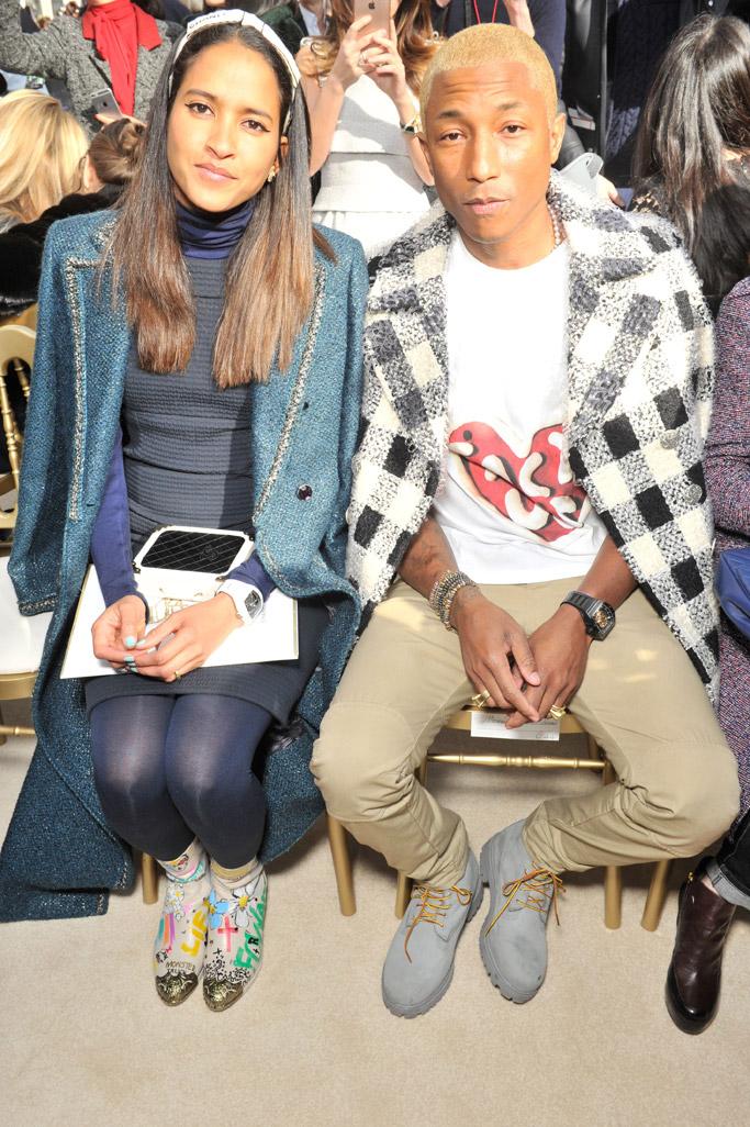 Front Row at Chanel Fall 2016 Paris Fashion Week