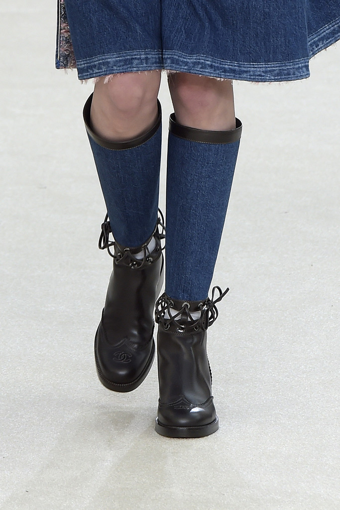 Chanel Fall 2016 Shoes On The Runway