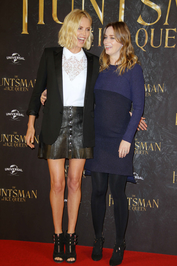 Charlize Theron, Emily Blunt