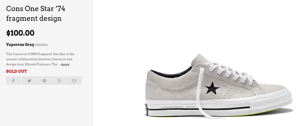 Converse One Star 74 Collection Sneakers