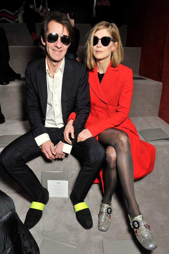 Front Row at Dior Fall 2016 Paris Fashion Week