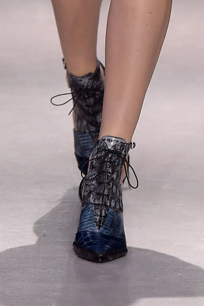 Dior Fall 2016 Shoes On The Runway