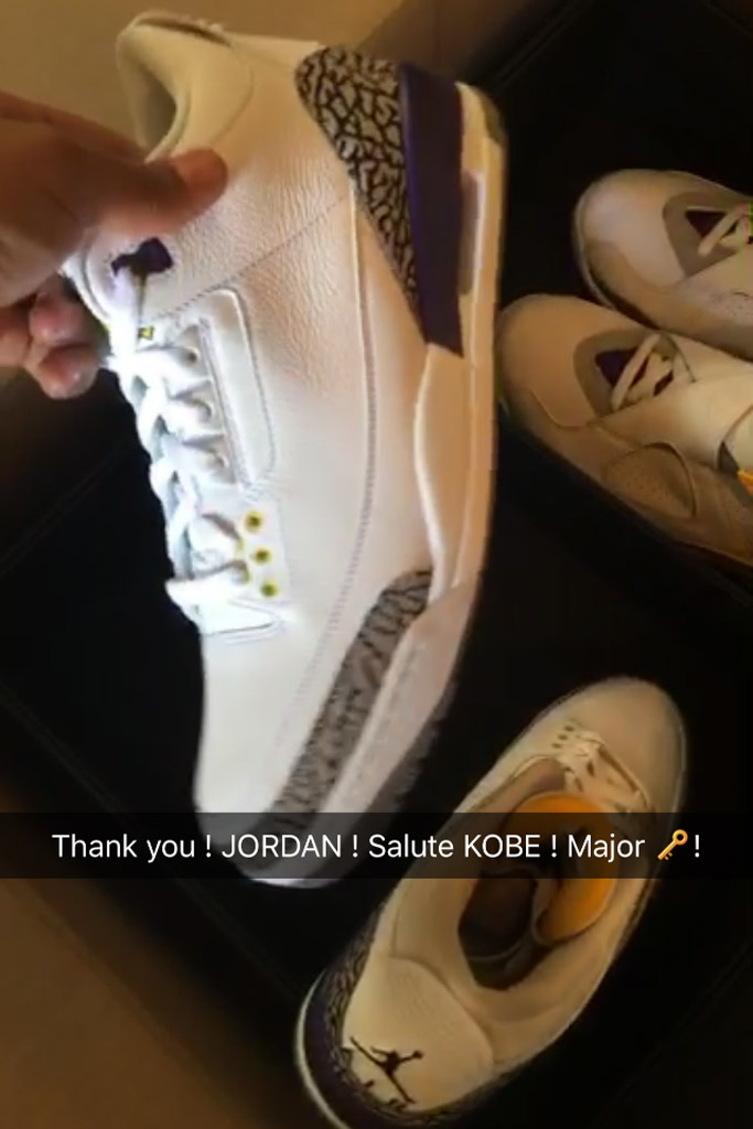 DJ Khaled Air Jordan Kobe Bryant