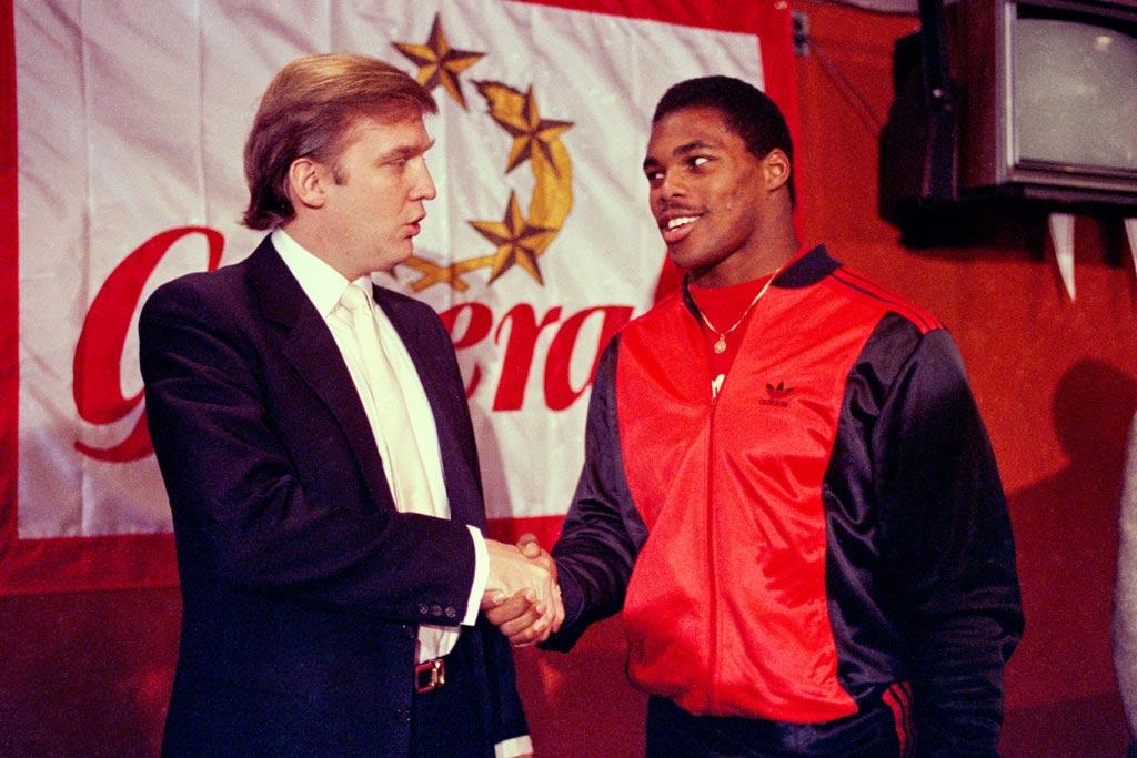 Donald Trump; Herschel Walker