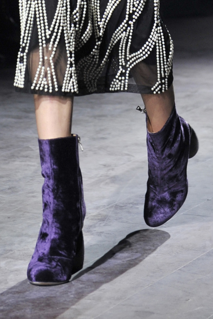 Dries Van Noten Fall 2016 Shoes On The Runway