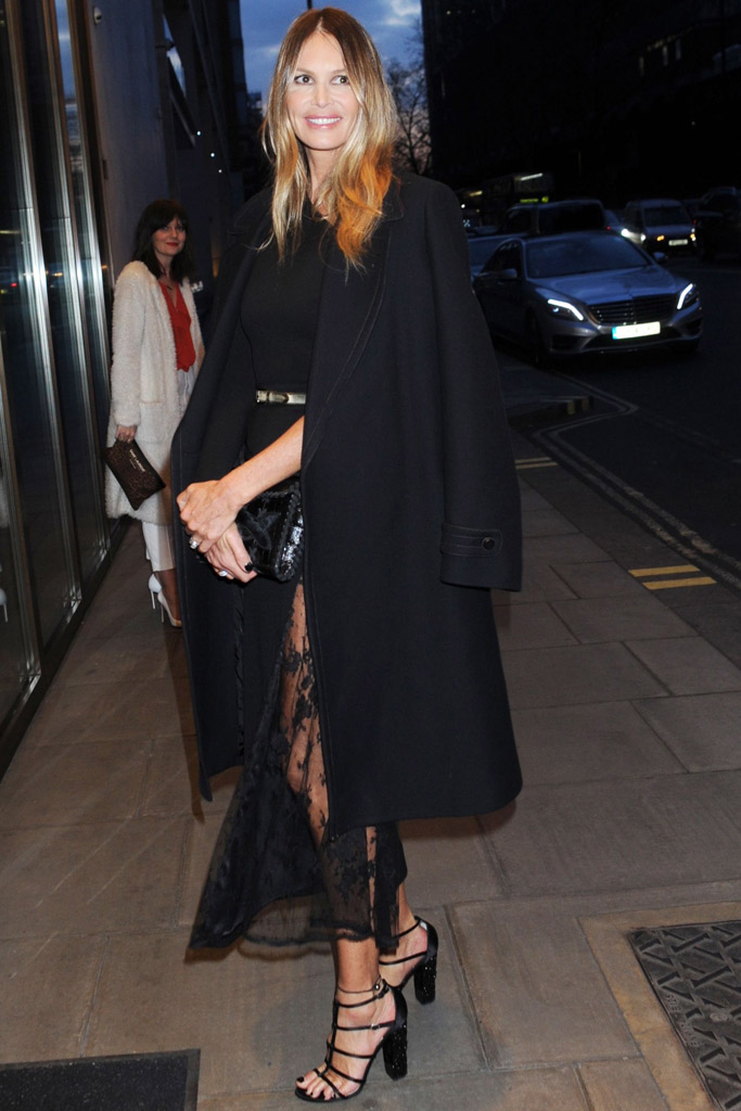 Elle MacPherson Celebrity Statement Shoes Spring 2016
