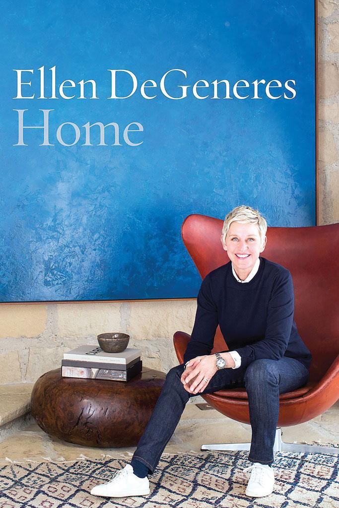 Ellen DeGeneres Home Book