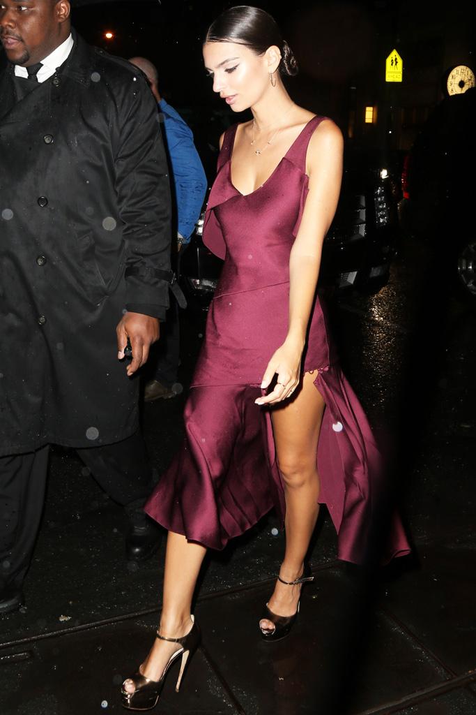 Emily Ratajkowski Met Gala After Party Shoes