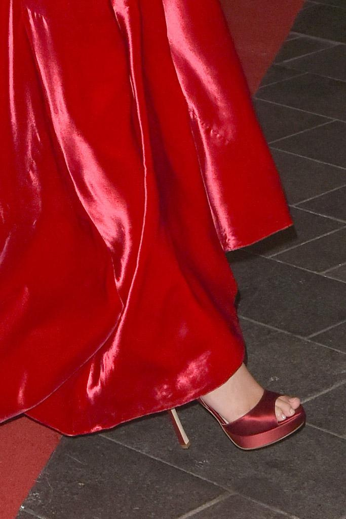 Gal Gadot Celebrity Statement Shoe Spring 2016