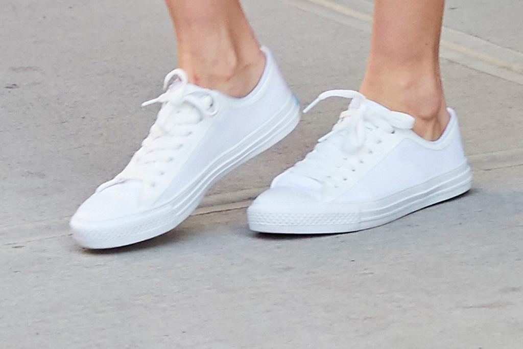 Gigi Hadid People Footwear White Sneakers