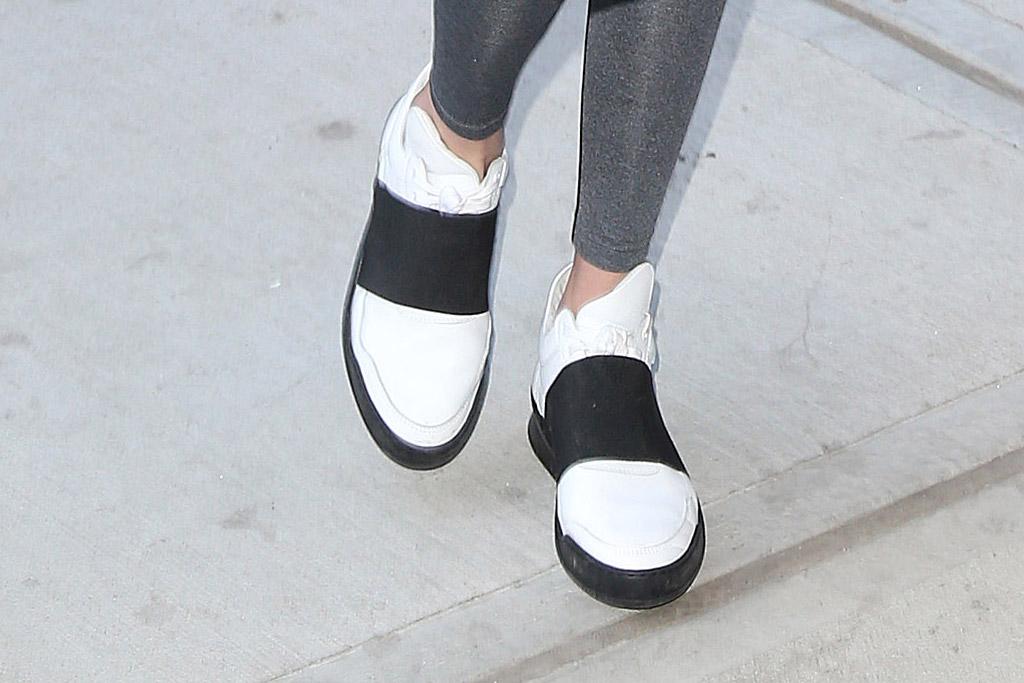 Gigi Hadid Celebrity Statement Shoes Spring 2016