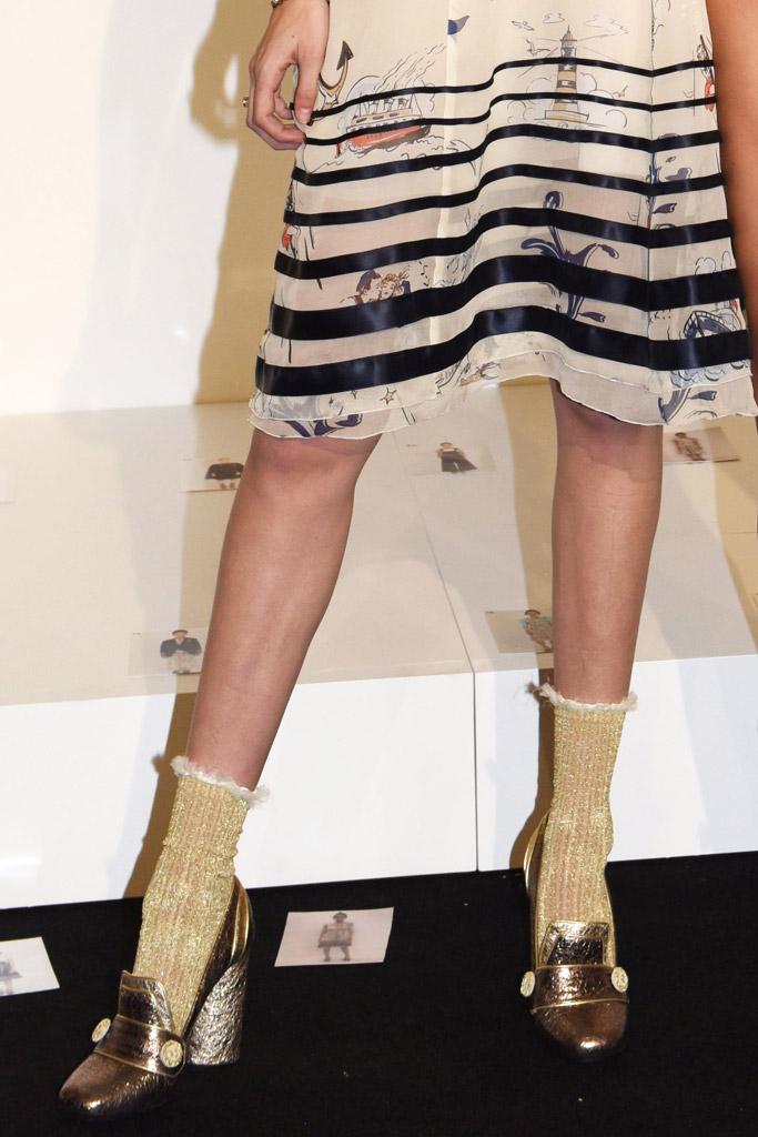 Gigi Hadid On The Runway