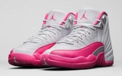 Girls' Air Jordan 12 Retro Vivid