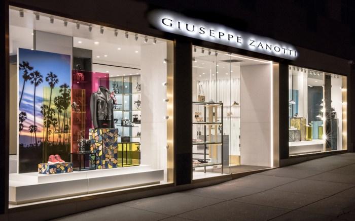 Giuseppe Zanotti Madison Avenue Store