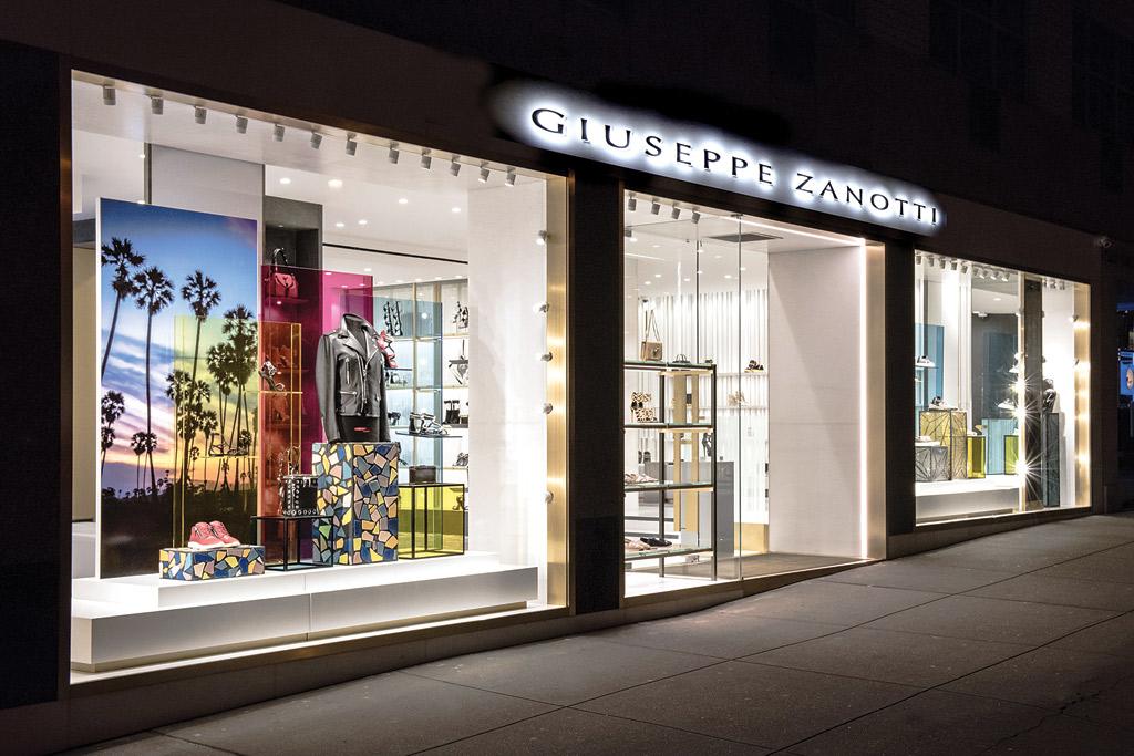 Giuseppe Zanotti Madison Avenue NYC Store